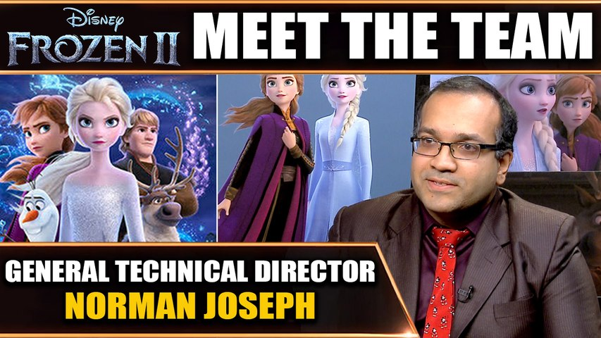 Frozen II: Our Hometown Hero at Disney gives career advice