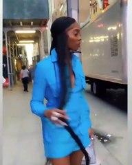 Tiwa Sqvage vous présente son nouveau look de ouf
