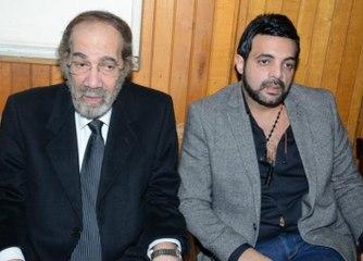 ظهور أحفاد محمود ياسين لأول مرة وهذا سبب بكاء ابنه ليالينا