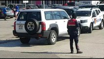 Policia me dron dhe qen në portin e Durrësit