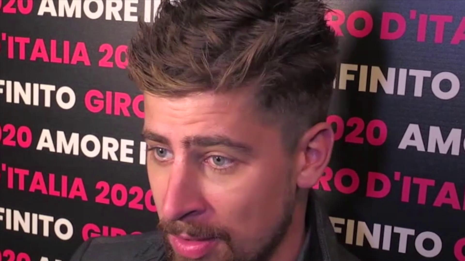 Tour d'Italie 2020 - Peter Sagan et Richard Carapaz s'expriment sur le Giro 2020