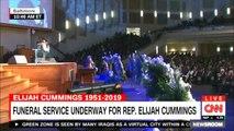 Funeral service underway for Rep. Elijah Cummings. #Breaking #News
