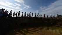 Bangladesh plans to relocate Rohingya refugees to flood-prone island