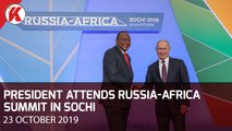 Uhuru Attends Russia-Africa Summit In Sochi