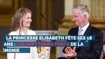 Les 18 ans de la princesse Elisabeth: les sept temps forts de la cérémonie