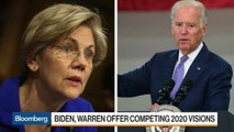 Biden and Warren Pitch Democrats on Two Very Different Paths to Winning Voters