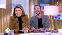 Cécilia Attias et Louis Sarkozy s'expriment ! - C à Vous - 25/10/2019