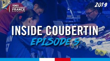 INSIDE COUBERTIN - Dans la peau d'un cordeur Yonex