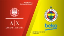 AX Armani Exchange Milan - Fenerbahce Beko Istanbul Highlights | Turkish Airlines EuroLeague, RS Round 4