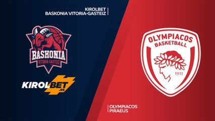 EuroLeague 2019-20 Highlights Regular Season Round 4 video: Baskonia 82-66 Olympiacos
