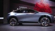 Nissan Ariya Concept and Nissan IMk design at 2019 Tokyo Motor Show