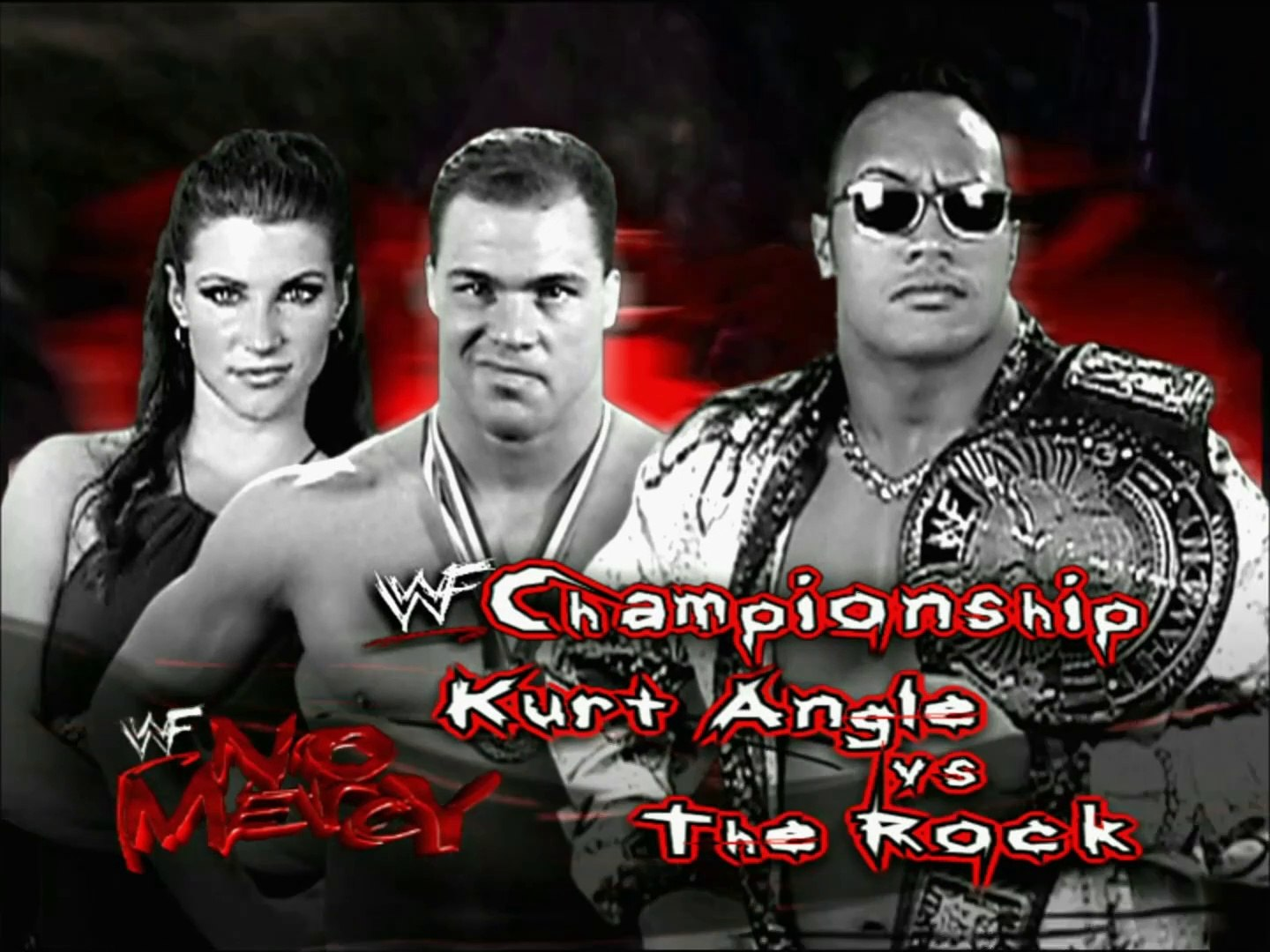 Kurt Angle vs The Rock WWF No Mercy 2000 Promo