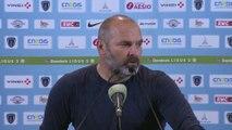 Conférence de presse de Pascal Dupraz après Paris FC / SMCaen