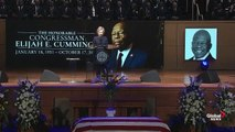 Hilary Clinton honours late Rep. Cummings at funeral- -Elijah could call down fire from heaven-