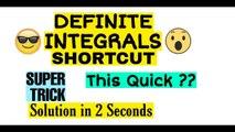 Definite Integrals SHORTCUT | Integration Short Trick | JEE | NDA | EAMCET | CETs | Maths Shortcuts | Integration Class 12 | DEFINITE INTEGRATION | part 4