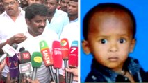Sujith rescue operation  It is challenging to rescue the boy says health minister vijayabaskar