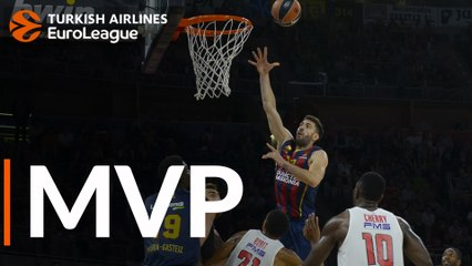 Round 4 MVP: Tornike Shengelia, Baskonia