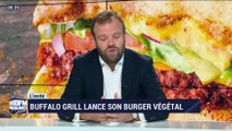 Buffalo Grill lance son burger vétégal - 26/10