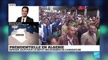 """Algérie : """"Sept candidats ont confirmé leur participation à la présidentielle"""""""