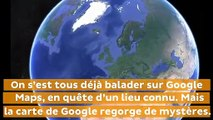 Une mystérieuse île de Sibérie cachée par Google Maps