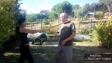 Self defense How to defend stick attacks