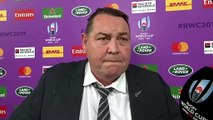 Steve Hansen interview after the Rugby World Cup 2019 semi-final