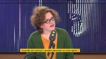 """Incendie de Lubrizol : """"Les habitants continuent de demander de la transparence, il faut que cela leur soit totalement accordé"""", déclare Marie Toussaint, eurodéputée EELV"""