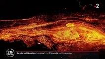 La Réunion : les images impressionnantes du Piton de la Fournaise en éruption