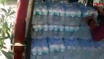 Büfede su şişesi içinde sahte içki satışına 3 gözaltı
