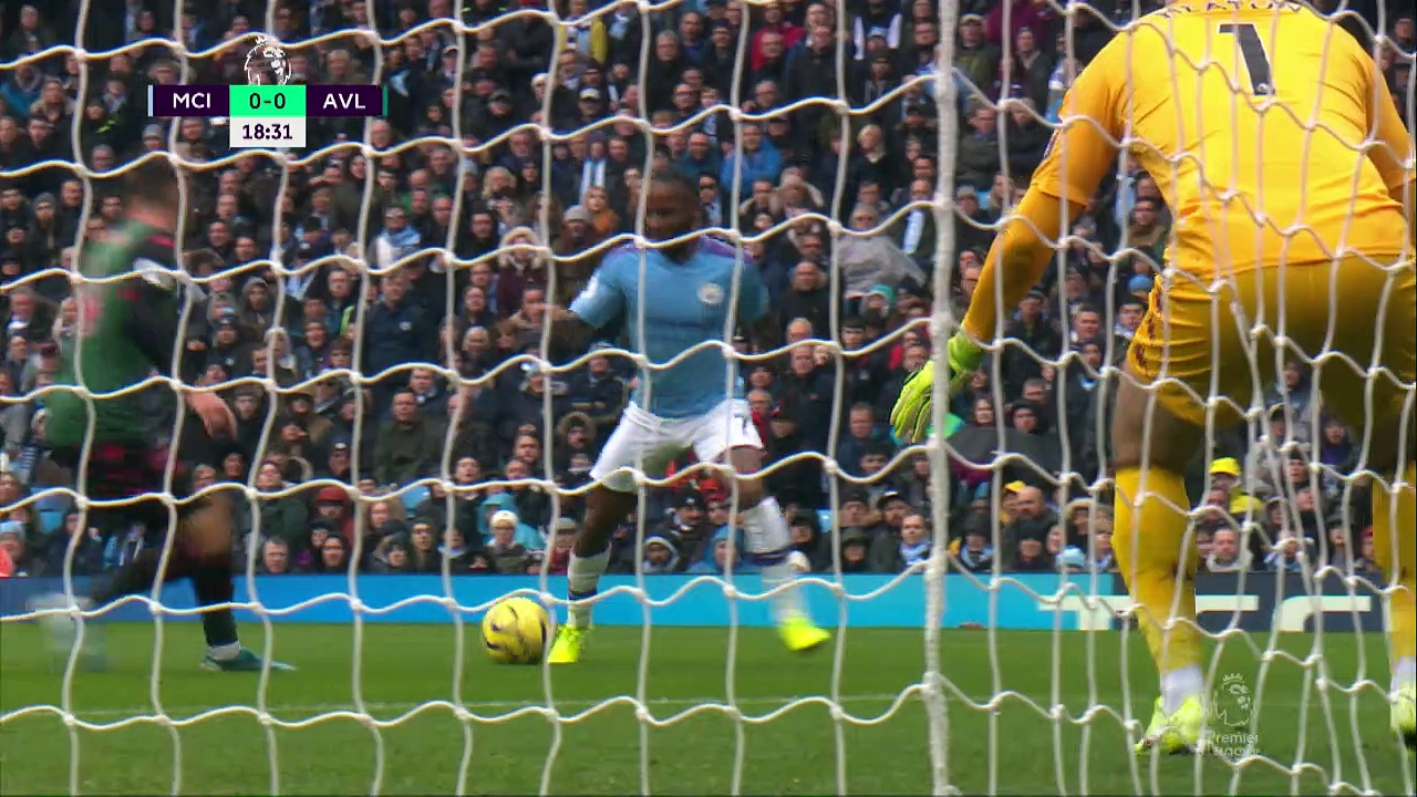 10. Hafta / Manchester City - Aston Villa: 3-0 (Özet)