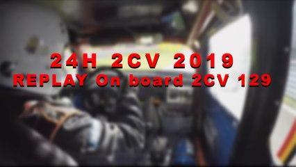 24H2CV 2019 - Live Onboard 2CV 129 (3)
