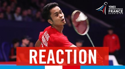 FRENCH OPEN - MS - 1/2 - ANTONY GINTING (INA)
