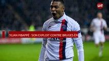 Kylian Mbappé : son exploit contre Bruges épate la toile