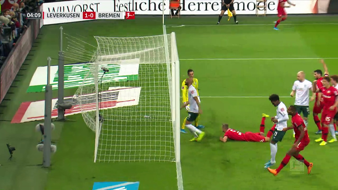 9. Hafta / Bayer Leverkusen - Werder Bremen: 2-2 (Özet)