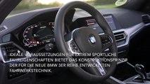 Die neue BMW 3er Reihe - M Sportfahrwerk einschließlich Variabler Sportlenkung