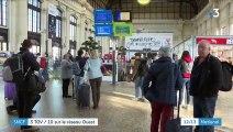 SNCF : 3 TGV sur 10 sur le réseau Atlantique