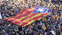 Nueva manifestación independentista en Barcelona a una semana de disturbios