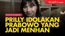Prilly Latuconsina Favoritkan Prabowo yang Jadi Menteri Pertahanan