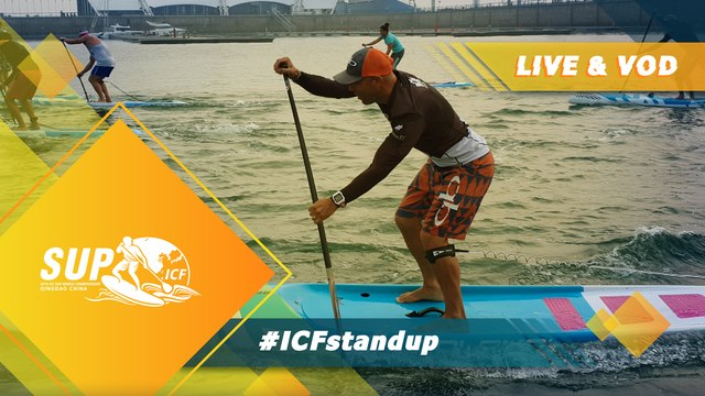 2019 ICF Stand Up Paddling (SUP) World Championships Qingdao China / Technical Finals