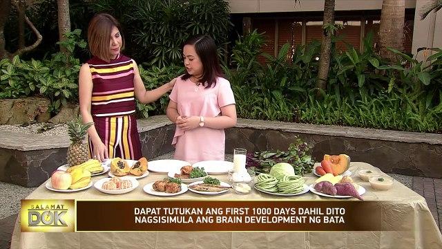 National Nutrition Council nutritionist-dietician Camille Chen talks about motherhood   Salamat Dok
