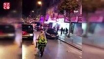 İstanbul'da asker eğlencelerinde magandalar trafikte havaya ateş açtı