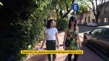 Argentine : les classes moyennes touchées par la crise