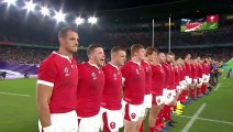 Passionate Welsh anthem ahead of RWC 2019 Semi-Final