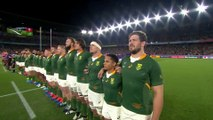 Emotional South African anthem before RWC 2019 Semi-Final