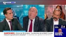 """Le régime par point """"est la ligne jaune"""" dans la négociation sur la réforme des retraites, estime Philippe Martinez"""