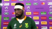 Siya Kolisi interview after South Africa reach the World Cup Final