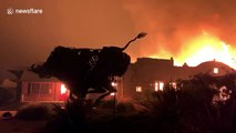 Wineries burn as Kincade fire spreads in Sonoma County, California