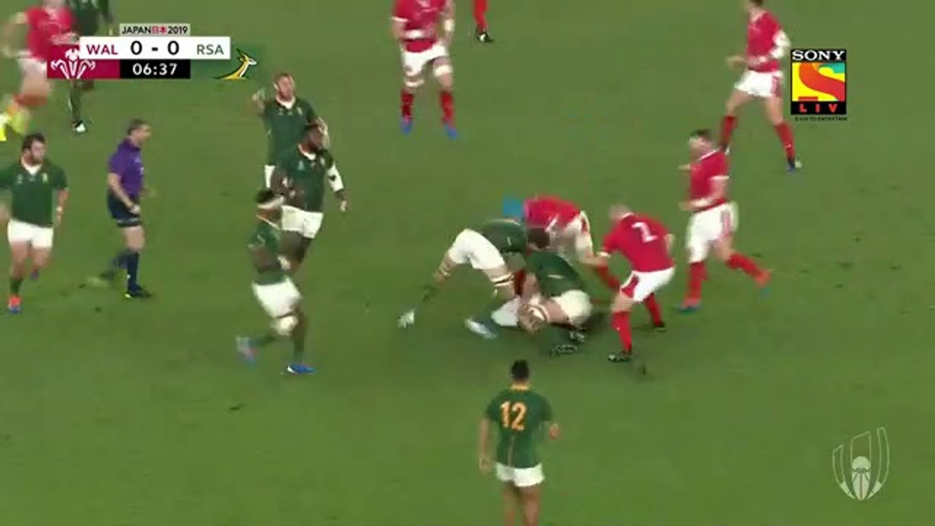 Wales vs South Africa Semi-Final Extended Highlights 2019 Rugby World Cup, 27th October