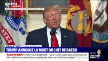 """""""Nous continuerons à nous battre contre le terrorisme.""""  Donald Trump annonce la mort du chef de Daesh"""