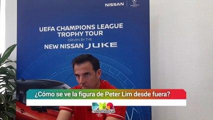 Entrevista con Carlos Marchena habla del Valencia-Sevilla y la Champions